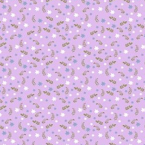 Ditsy floral (lavender ground)