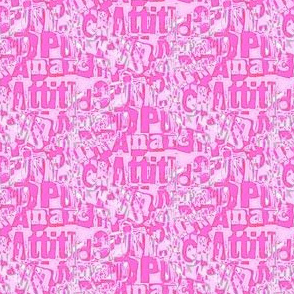 Attitude and anarchy (pink)