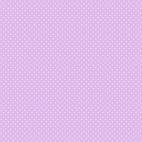 Dottie (lavender ground) fabric by raccoons_rags on Spoonflower - custom fabric