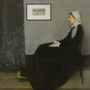 Whistler - Study in Grey and Black No 1