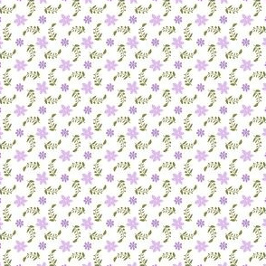 Formal floral (white ground)