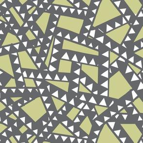 Triangle Tape - Mustard