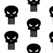 Punisher Skull Black
