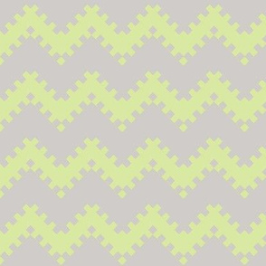 8bit Chevron in Green