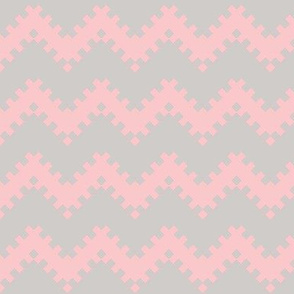 8bit Chevron in Pink