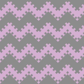 8bit Chevron in Purple 2