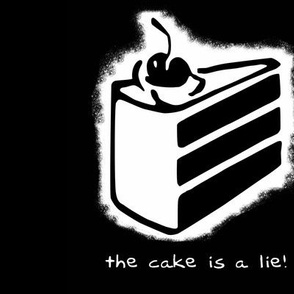 the cake is a lie - swatch