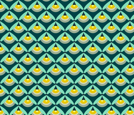 Night Lights fabric by nadiahassan on Spoonflower - custom fabric
