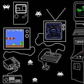 8 bit video games