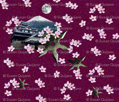 Ninja Cherry Blossoms