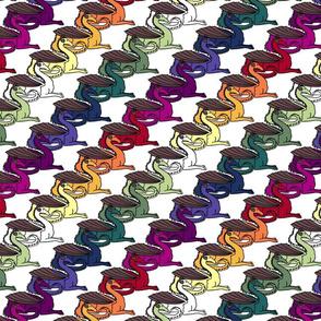 Dragon Stripes Rainbow
