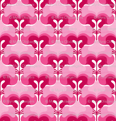 vintage splash pink