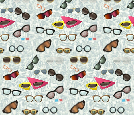Fashion's Not Fashion Without Eye Fashion fabric by charldia on Spoonflower - custom fabric