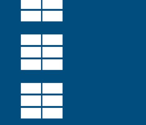 Phone box windows border print fabric by risarocksit on Spoonflower - custom fabric