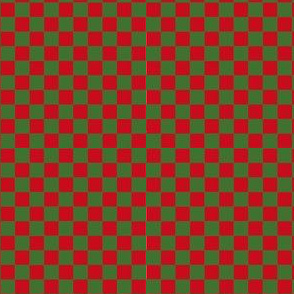 Christmas Checkers