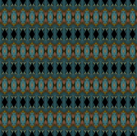 Geometric 0225 k2 sky blue background r0004 fabric by wyspyr on Spoonflower - custom fabric