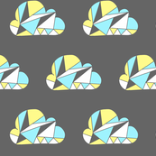 Cloudy Triangles