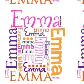Emma Name Print