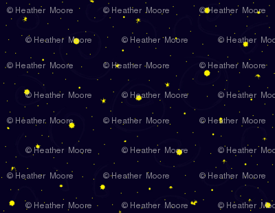 Fireflies in the Night Sky