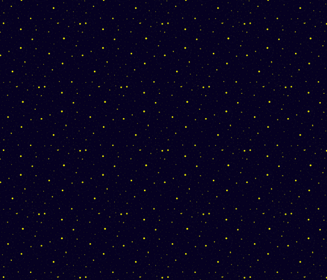 Fireflies in the Night Sky fabric by hmooreart on Spoonflower - custom fabric