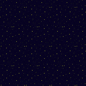 Fireflies in the Night Sky