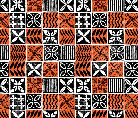 Hawaiian Kapa 3b fabric by muhlenkott on Spoonflower - custom fabric