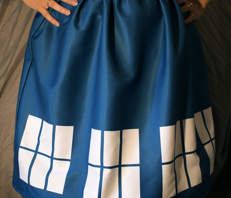 Blue Phone Box Skirt Kit
