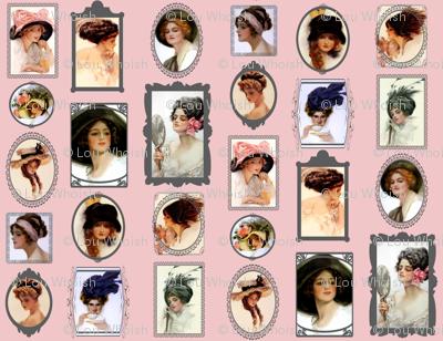 Victorian Fashion Hat