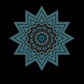 Kaleidescope 0946 k2 sharpened r1 baby blue and black mandala