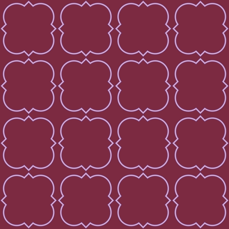 Harold's Quatrefoil fabric by peacoquettedesigns on Spoonflower - custom fabric