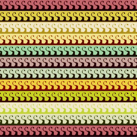 Interrogative Stripes fabric by boris_thumbkin on Spoonflower - custom fabric