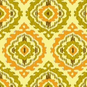 Ikat-Suzani-yellow