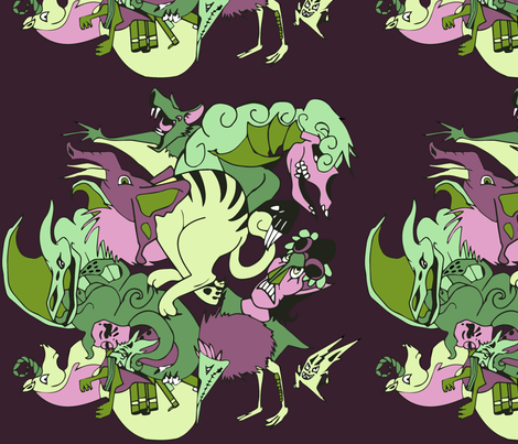 Dream or Nightmare fabric by craftyscientists on Spoonflower - custom fabric