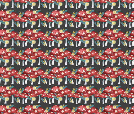 In the Dark of the Night fabric by meg56003 on Spoonflower - custom fabric