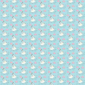 Sweetpea Swan in Blue