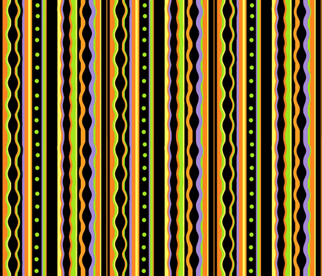 Silly Stripes fabric by whimzwhirled on Spoonflower - custom fabric