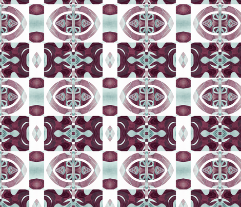 tulip 2 fabric by kociara on Spoonflower - custom fabric