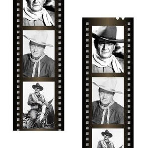 John Wayne Film Strip