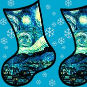 Rstarry_night_stocking__blue_with_snowflakes__shop_thumb