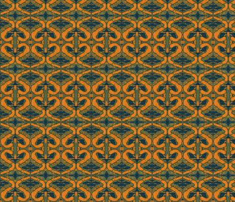 Turmeric fabric by elizabethvitale on Spoonflower - custom fabric