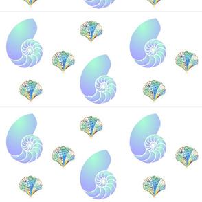 Lucious Sea Shell Colors