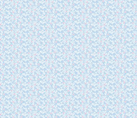 Dusty Blue fabric by graceful on Spoonflower - custom fabric