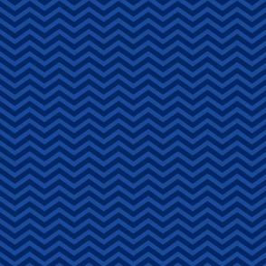 Navy and Blue Chevron