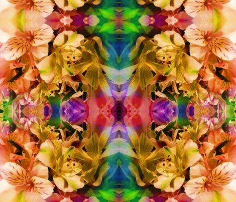 flowers_19 fabric by luckyboy1 on Spoonflower - custom fabric