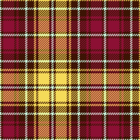 tartan - bird contest fabric by sef on Spoonflower - custom fabric