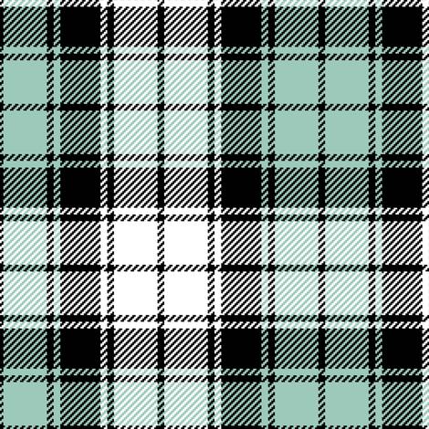 02284757 : tartan : winter birds fabric by sef on Spoonflower - custom fabric