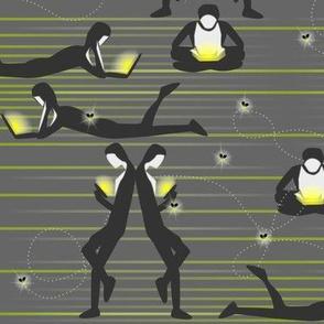 Luminescent Luminaries Illuminate - Modern Fireflies