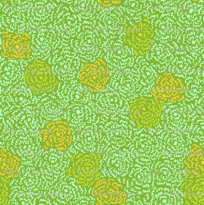 Firefly Flowers   Bright Green