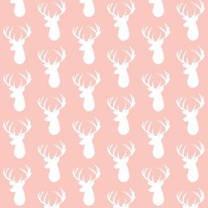 pink deer head