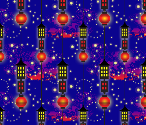 Hotaru-gari fabric by celiaforrester on Spoonflower - custom fabric